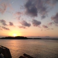 Photo taken at Ferry Boat Caiobá - Guaratuba by Ana on 1/24/2013