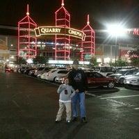 Photo taken at Regal Cinemas Alamo Quarry 16 by Debbie on 11/16/2012