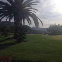 Photo taken at Angeles National Golf Club by Margaret M. on 4/23/2014