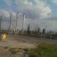 Photo taken at Marathon Ashland Refinery by Tammy F. on 4/11/2014