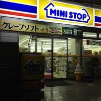 Photo taken at ミニストップ 駒沢1丁目店 by Leon Tsunehiro Yu-Tsu T. on 5/1/2013