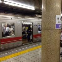 Photo taken at Hanzomon Station (Z05) by Leon Tsunehiro Yu-Tsu T. on 6/24/2013