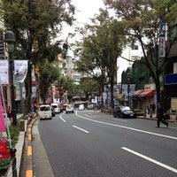 Photo taken at Dogenzaka by Leon Tsunehiro Yu-Tsu T. on 10/25/2012