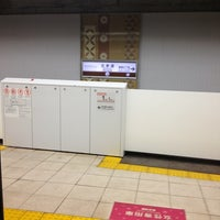 Photo taken at Kita-sando Station (F14) by Leon Tsunehiro Yu-Tsu T. on 2/26/2013