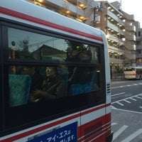 Photo taken at 松陰神社前 (東急バス 小田急バス) by Leon Tsunehiro Yu-Tsu T. on 12/23/2014