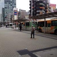 Photo taken at 品川駅港南口バスターミナル by Leon Tsunehiro Yu-Tsu T. on 10/10/2013