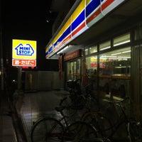 Photo taken at ミニストップ 駒沢1丁目店 by Leon Tsunehiro Yu-Tsu T. on 2/7/2015