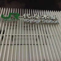 Photo taken at Yoyogi Station by Leon Tsunehiro Yu-Tsu T. on 12/20/2012