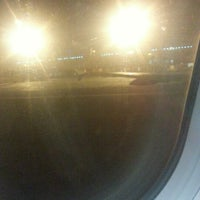 Photo taken at Gate F3 by Ahmed S. on 10/20/2012