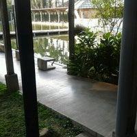 Photo taken at Pemancingan & Lesehan Tirta Mas by Tivania W. on 10/26/2012