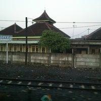 Photo taken at Sidoarjo Train Station/SDA/±4 m. dpl(indonesian railway /PT KAI) by hari s. on 12/16/2012