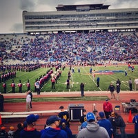Photo taken at Memorial Stadium by Greg B. on 11/16/2013