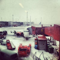 Photo taken at Stockholm-Arlanda Airport (ARN) by Off-The-Path.com on 2/6/2013