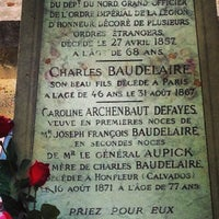 Photo taken at Montparnasse Cemetery by Christophe on 4/27/2013