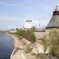 Photo taken at Pskov by Julia Crystal on 5/12/2013
