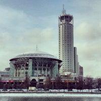 Снимок сделан в Московский международный дом музыки (ММДМ) пользователем Дмитрий 3/2/2013