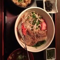 Photo taken at 沖縄台所 しびらんか 麻布十番店 by Kasumi I. on 10/10/2013