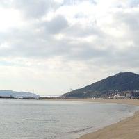 Photo taken at Suma Coast by みいちゃ on 1/11/2013