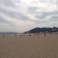 Photo taken at Suma Coast by みいちゃ on 7/19/2013