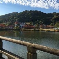 Photo taken at 須磨寺公園 by みいちゃ on 11/5/2015