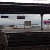 Photo taken at Suma Station by みいちゃ on 2/15/2013