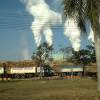 Photo taken at Mitr Phu Kieo Sugar Co., Ltd. by Robbert K. on 1/17/2014