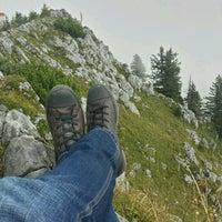 Photo taken at Jenner Gipfelkreuz by Benjamin on 9/21/2016