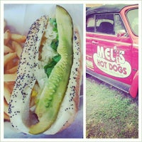 Photo taken at Mel's Hot Dogs by Karin F. on 11/15/2012