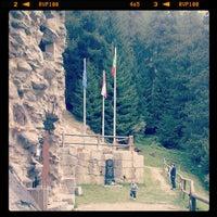 Photo taken at Fort Strino by Enrico B. on 9/10/2013