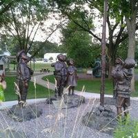 Photo taken at Elkhart Lake Town Playground by Arlene C. on 7/7/2013