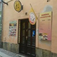 Photo taken at Speciální prodejna sýrů, vín a kulinářských specialit by Tereza B. on 8/21/2014