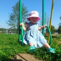 Photo taken at Детская площадка в разливе by Mr.SMITH on 5/24/2014