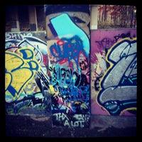 11/24/2012 tarihinde `art_thug'ziyaretçi tarafından Atlanta BeltLine Corridor under Freedom Pkwy'de çekilen fotoğraf