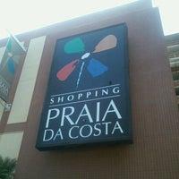 Photo taken at Shopping Praia da Costa by Nayara C. on 3/13/2013