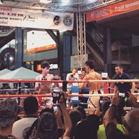 Photo taken at MBK Fight Night by Sameer G. on 2/11/2015
