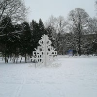 Photo taken at Vērmanes Garden by Ksenija V. on 12/12/2012