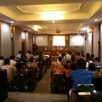 Photo taken at Universitas Mahasaraswati Denpasar by Nasa W. on 10/26/2013