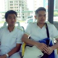 Photo taken at karwa bus 41 by Rj B. on 2/19/2014