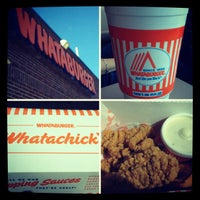 Photo taken at Whataburger by Alyssa on 10/11/2012