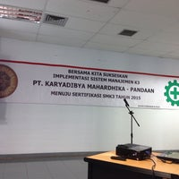 Photo taken at PT Karyadibya Mahardhika by yossi a. on 10/20/2014