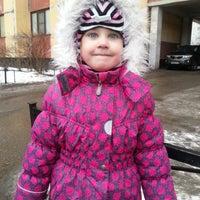 Photo taken at Детский Сад №80 by Виктория Р. on 2/27/2013