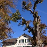 Photo prise au Gasthof Zur Krone par Gian K. le10/19/2012