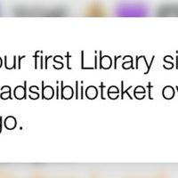 Photo taken at Stadsbiblioteket by ♛ Lennart E. on 9/26/2014