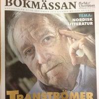 Photo taken at Stadsbiblioteket by ♛ Lennart E. on 9/14/2012