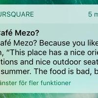 Photo taken at Café Mezo by ♛ Lennart E. on 8/20/2017