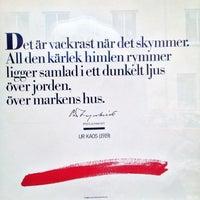 Photo taken at Stadsbiblioteket by ♛ Lennart E. on 4/29/2013