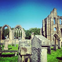 Photo taken at Elgin Cathedral by Johnny M. on 9/15/2012