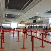 Photo taken at Belfast International Airport (BFS) by Owen J. on 3/8/2013