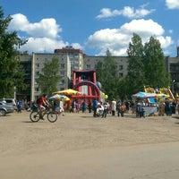 Photo taken at Большеёлкинская Площадь by Andrey Z. on 6/1/2015