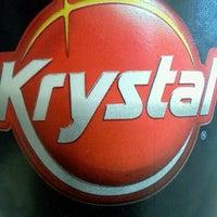 Photo taken at Krystal by Manuela Cisneros H. on 9/23/2012